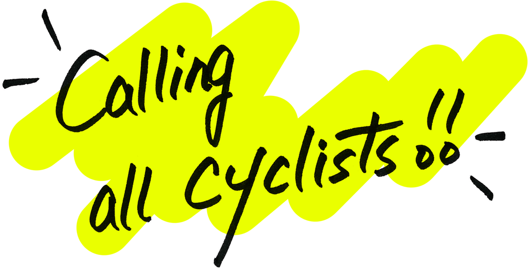 Calling all cyclists !!